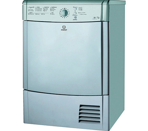 INDESIT EcoTime IDCL85BHS Condenser Tumble Dryer