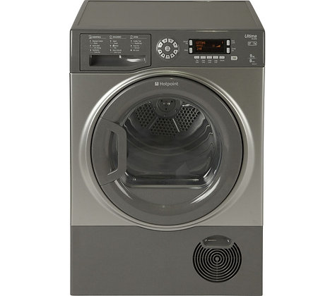 HOTPOINT Ultima S-Line SUTCD97B6GM Condenser Tumble Dryer