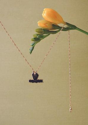 Black Swan Necklace