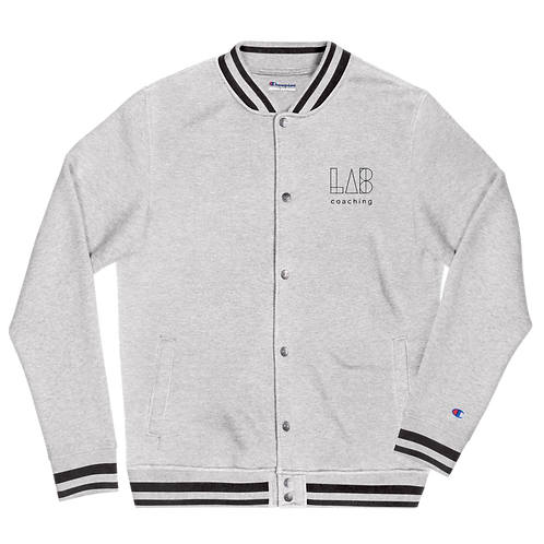 LAB Coaching - Embroidered Champion Bomber Jacket