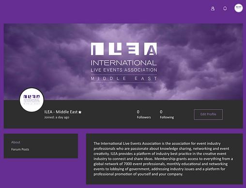 ILEA ME Member Profile