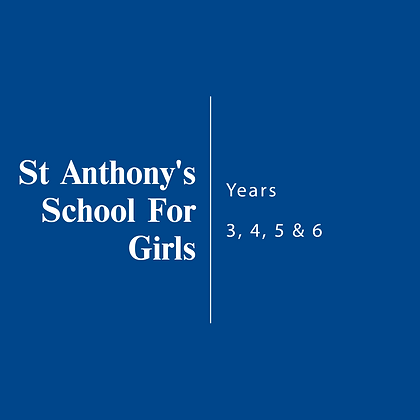 St Anthony's School For Girls | Year 3, 4, 5 & 6