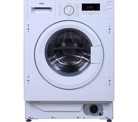 LOGIK LIW714W15 Integrated Washing Machine
