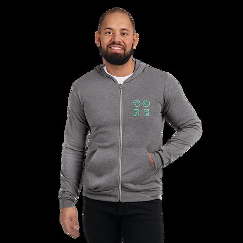 CORE - Unisex zip hoodie