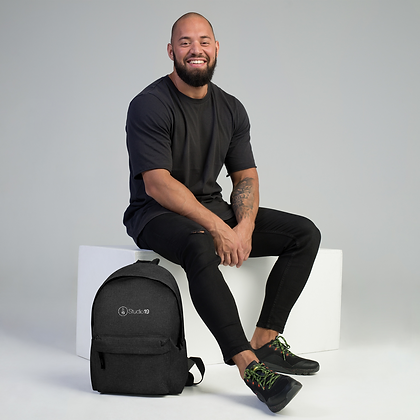 Studio 19 Embroidered Backpack