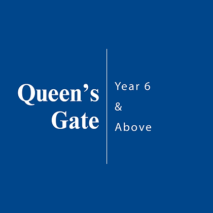 Queen's Gate | Year 6 & Above