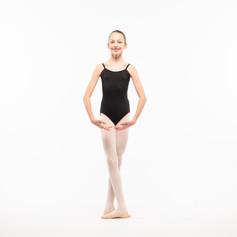 Chelsea Ballet Schools Black Leotard