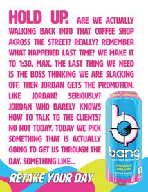 Bang Print Ad