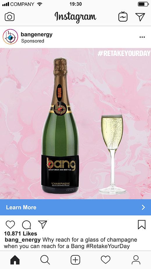 Champaign Instagram Ad