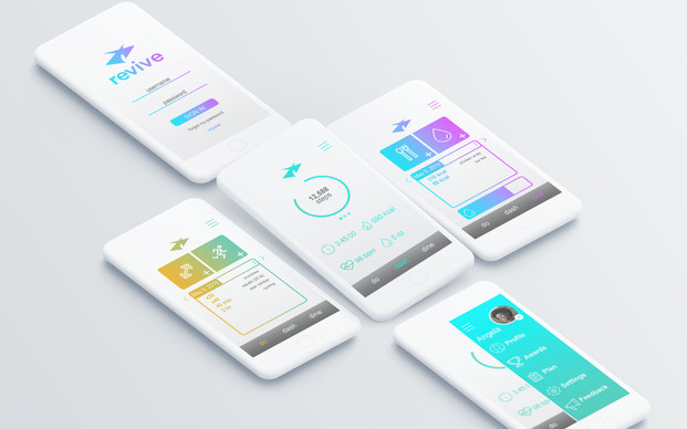 Revive Fitness App UI