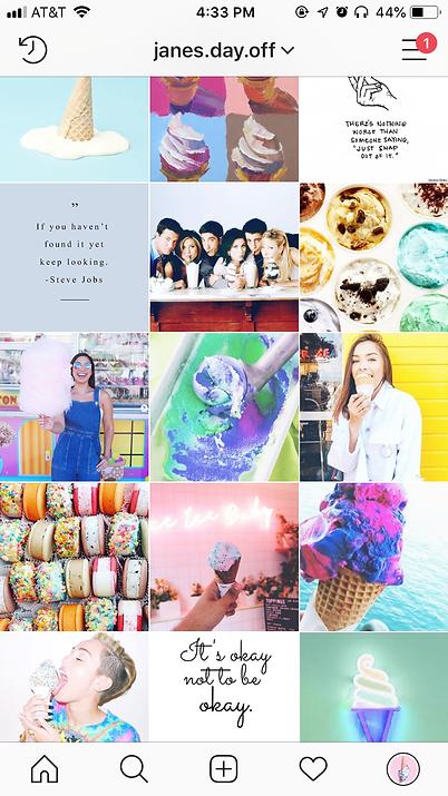 Instagram Exampl
