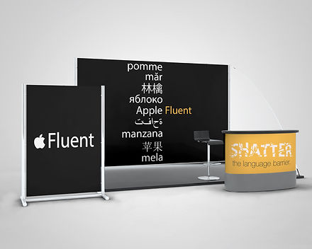 Apple Fluent - Pop-Up Booth