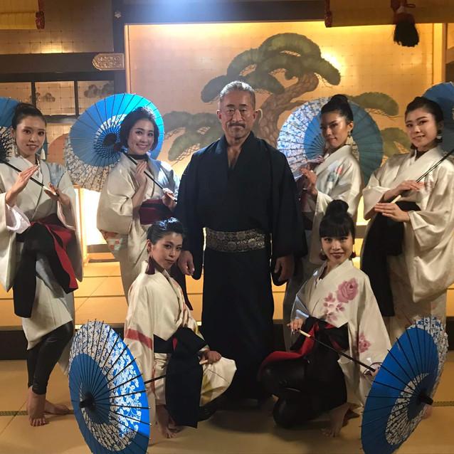 昨日はMVの撮影で角田信朗さんとご一緒させていただきました✨。
