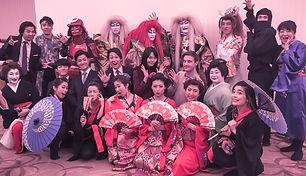 和風ダンスショー