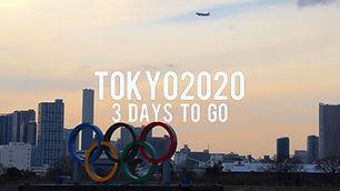 TOKYO2020 3 days To Go