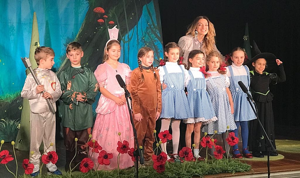 Winter shows - younger groups.