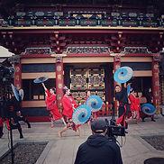 和傘ダンス