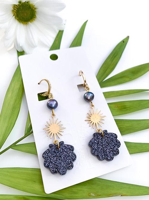 The Black Pearl Earrings