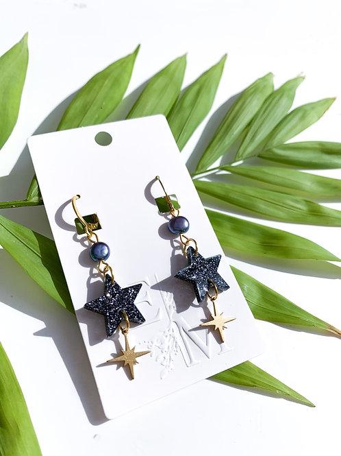 Galaxy Star Earrings