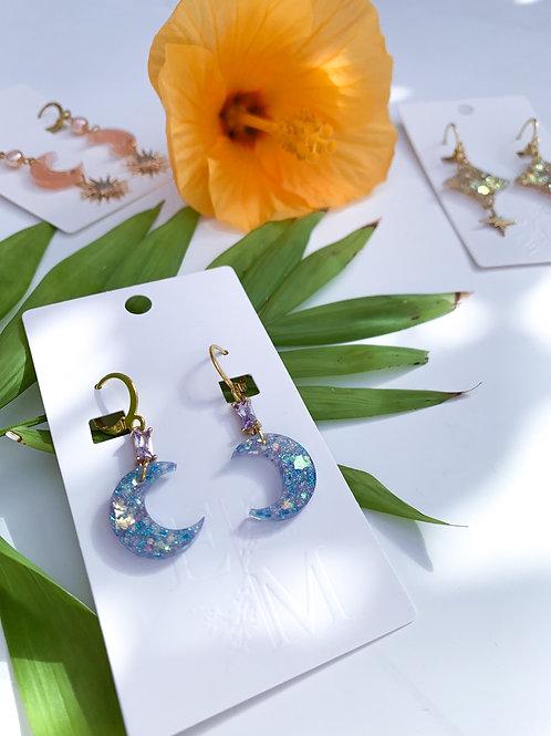 Petite Lunar Earrings