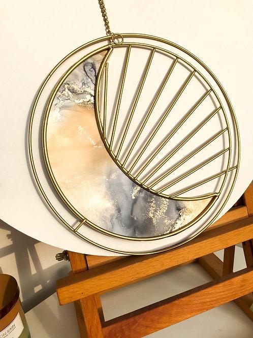 Lunar Crescent Artwork