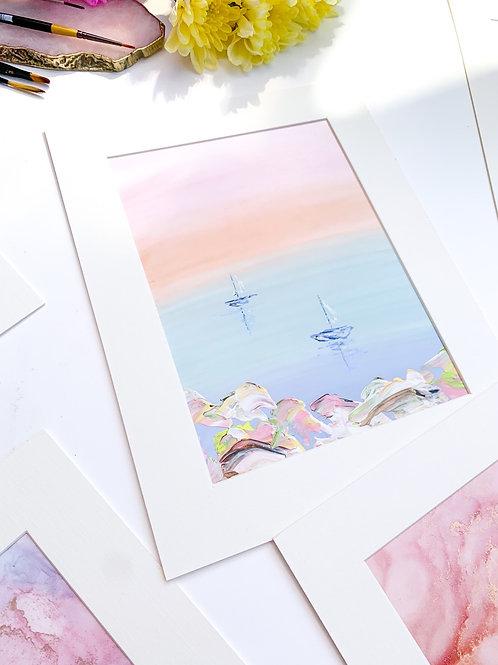Pastel Sails Original
