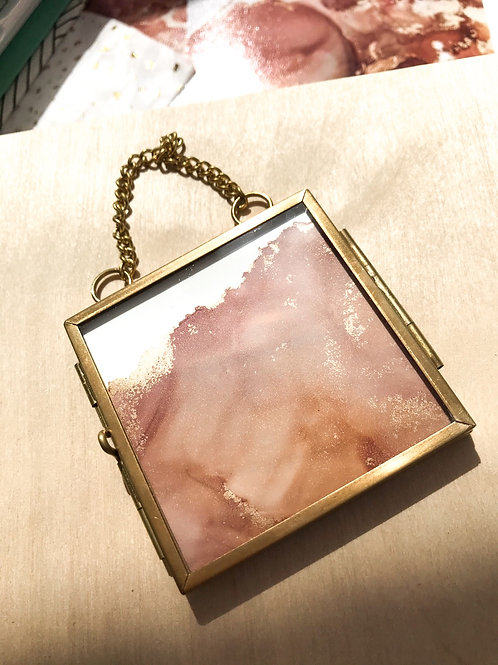 Sundown Mini Brass Frame