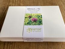 Presentbox med tepåsar mot klimakteriebesvär