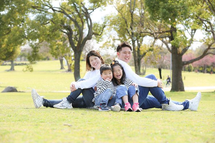 家族で公園