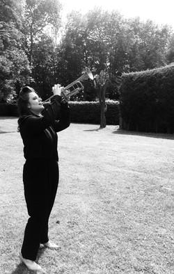 Charlotte Keeffe solo trumpet