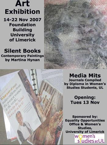 Silent Books & Media Mits exhibition pos