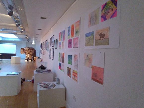 Students artwork Excel Art Centre Tipper