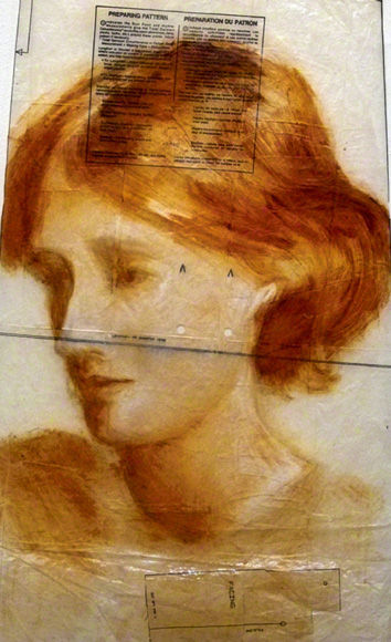 Virginia Woolf, Stitch Up...Think Woman