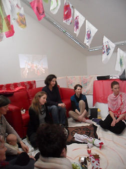 Red Tent Event during Re_Imagining Birth