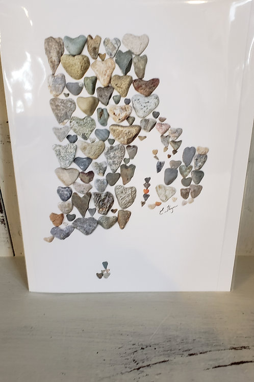 RI LOVE ROCKS CARD