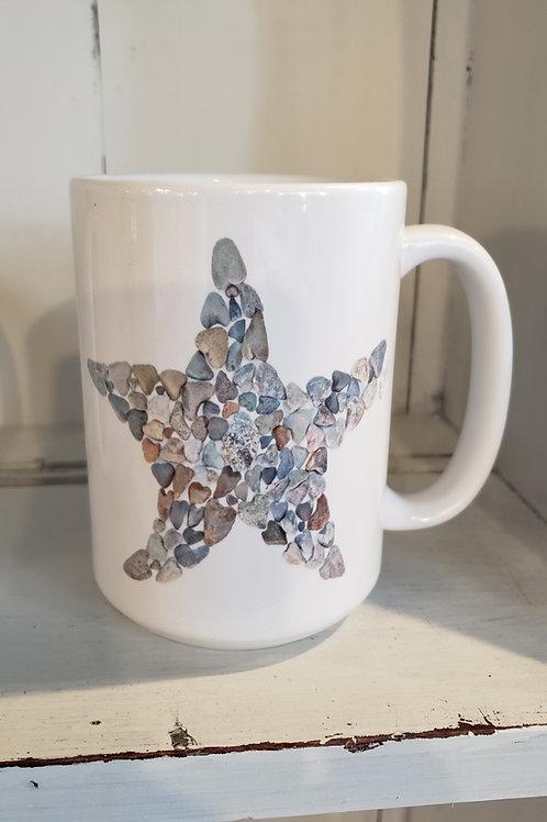 love rocks mug starfish