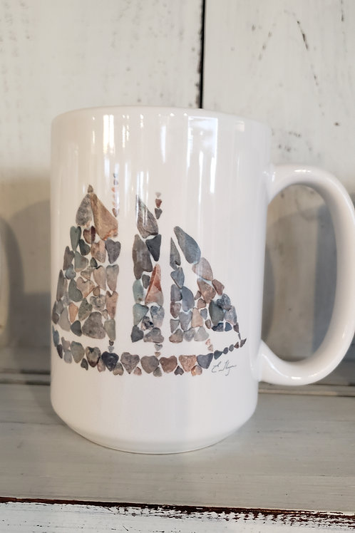 love rocks mug schooner
