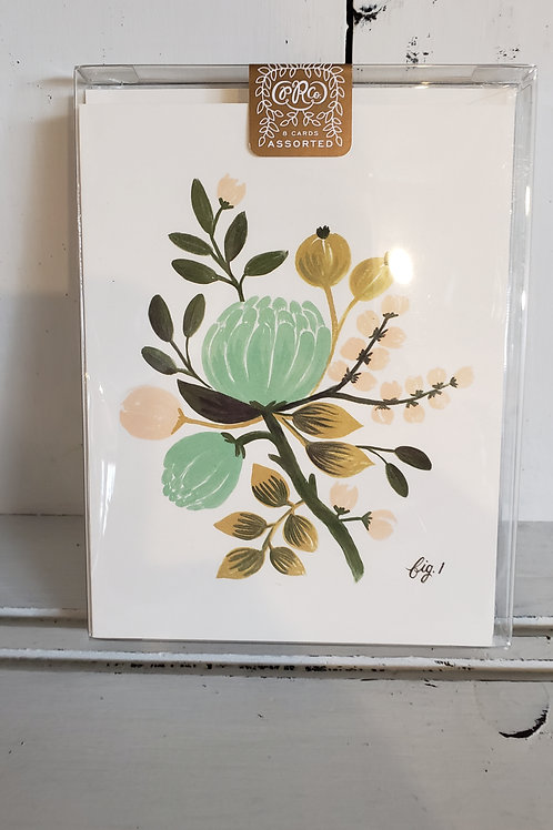 RIFLE PAPER PACK OF BOTANICAL CARDS