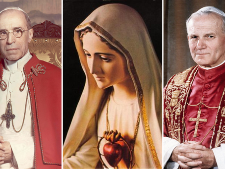 Papal Consecrations to the Immaculate Heart of Mary