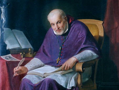 Saint Alphonsus Liguori - Mary Is Our Advocate, Able to Save All
