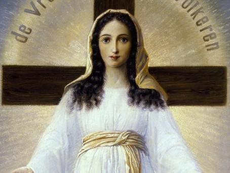 "The Lady of All Nations - Dec. 10, 1950 - ""The Cross Laid Upon the World"""