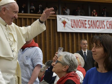 Pope: Precious Blood is fount of salvation for the world