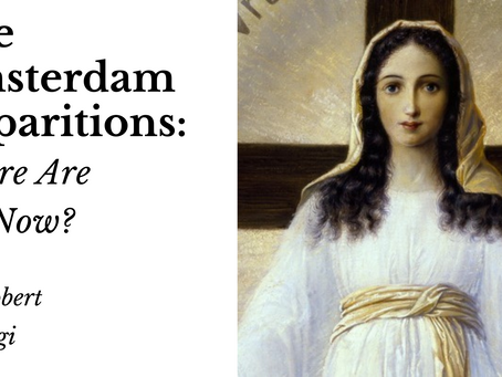 The Amsterdam Apparitions: Where Are We Now?