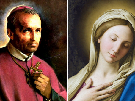 St. Alphonsus Liguori on the Holy Name of Mary