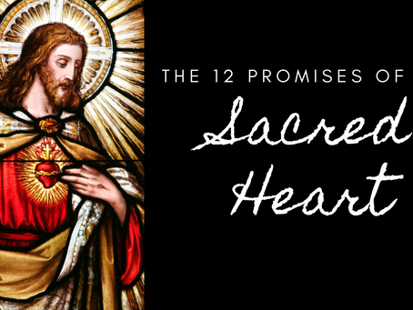MARY LIVE: The 12 Promises of the Sacred Heart of Jesus
