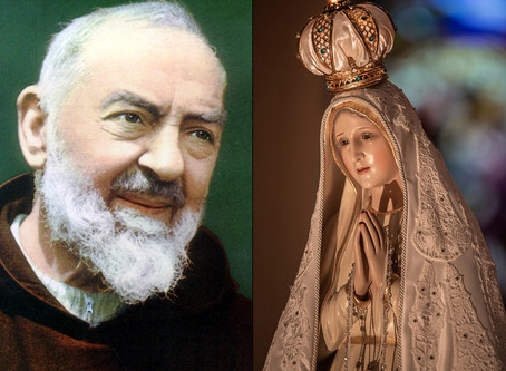 Padre Pio & Mary Co-Redemptrix