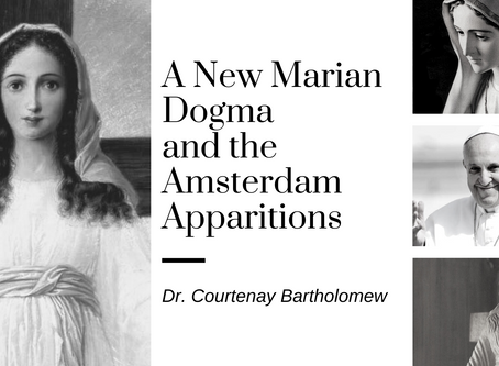 A New Marian Dogma and the Amsterdam Apparitions