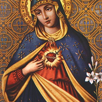 Heart of Mary, Mirror of God's Strength and Purity