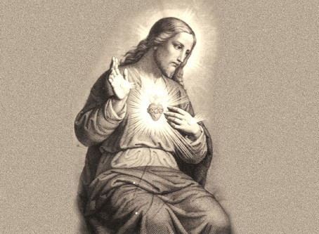 The Sacred Heart of Jesus and the Most Holy Trinity