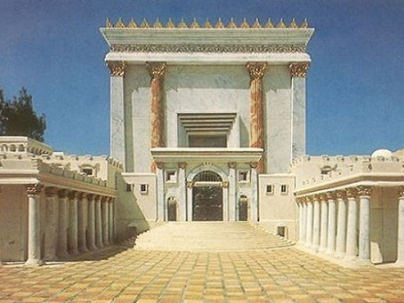 Mary's Heart, the Temple of Jerusalem